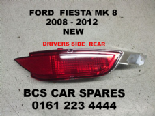 FORD FIESTA MK 7/8  FOG LIGHT REAR  O/S   DRIVERS SIDE